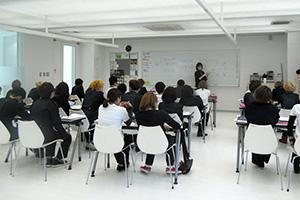 専門学校での授業風景